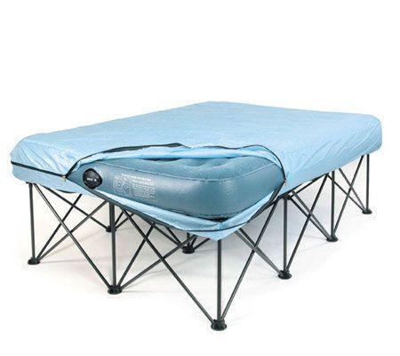 portable bed bed frames and mattress on pinterest. Black Bedroom Furniture Sets. Home Design Ideas