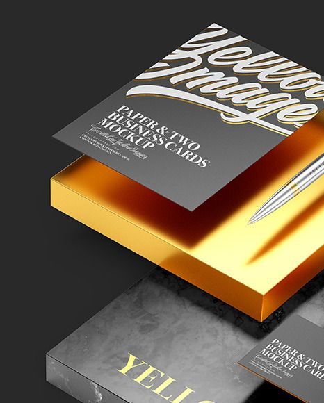 Download Two Business Cards Paper With Marble Mockup In Stationery Mockups On Yellow Images Object Mockups In 2020 Transparent Business Cards Stationery Mockup Business Card Mock Up PSD Mockup Templates