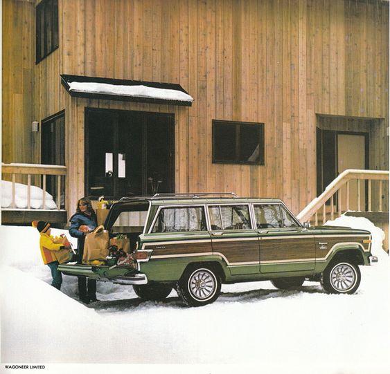 1980 Jeep Wagoneer Limited Jeep Wagoneer Classic Jeeps Jeep