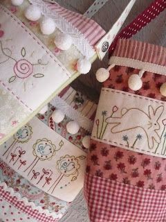 Stitchery bags  @ Bloom