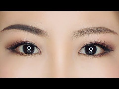 How To Make Eyes Look Bigger For Asian Monolid Puffy Eyes Without Eyeshadow Or Eyelid Tape Youtube Preventingst Eyebrow Shaping Asian Eyebrows Eyebrow Shape