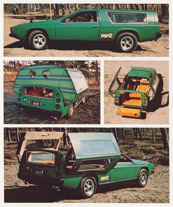 1972 Toyota RV-2 Concept.