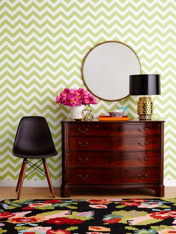 HGTV Magazine shows you how to make your old pieces look modern.