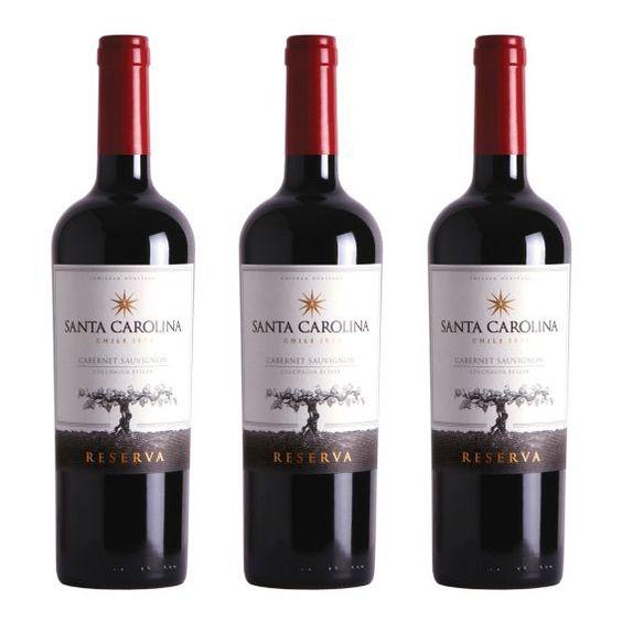 Rượu Vang Santa Carolina Reserva Cabernet Sauvignon 13,5% - Chai 750ml - Rượu Vang Nhập Khẩu