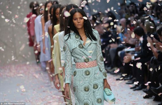Pastels|Burberry SS14