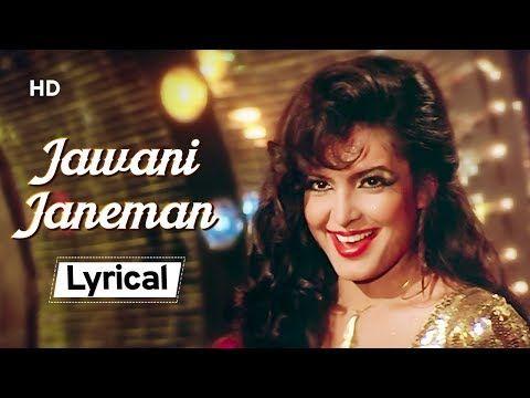 Jawani Janeman With Lyrics Namak Halaal 1982 Parveen Babi Amitabh Bachchan Shashi Kapoor Yo In 2020 Shashi Kapoor Amitabh Bachchan Latest Bollywood Songs