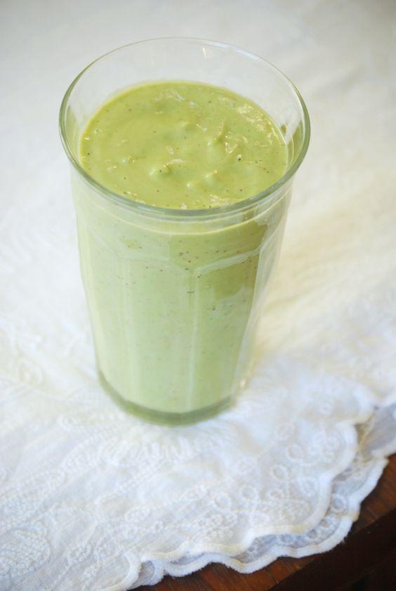 Green smoothie.