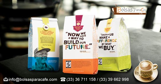 As one of the #world's leading companies when #CoffeeBags ( #BolsasDeCafé ) we speak, understand what features you need in your bag as well as understand what are the requirements for packaging coffee and so we provide bags with best quality of the market to meet all your needs. Undoubtedly we can offer the best coffee bags market.. http://www.bolsasparacafe.com/bolsas-de-cafe/