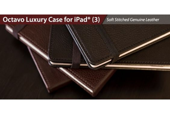 Luxury Leather Case for iPad