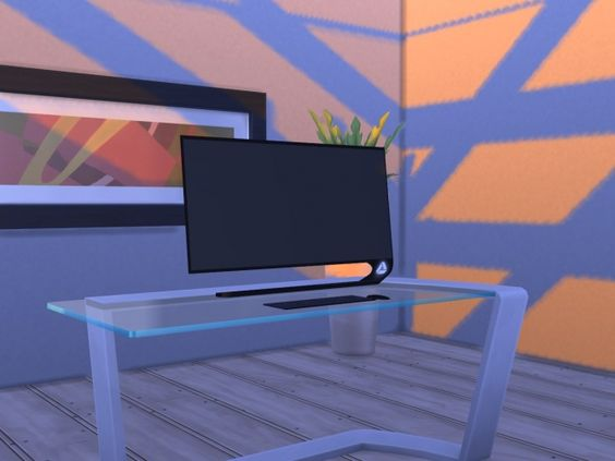 AE-Technologies AIO PC by Hannes16 at Mod The Sims via Sims 4 Updates
