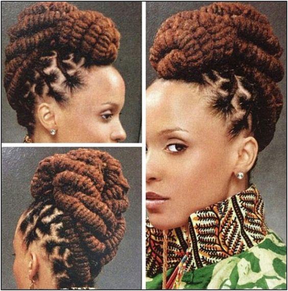 Awe Inspiring Braided Hairstyles Africans And African Fashion Ankara On Pinterest Short Hairstyles Gunalazisus