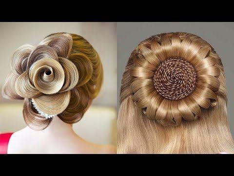 Beautiful French Twist For Long Hair أجمل تسريحة فرنسية للشعر الطويل Youtube French Twist Hair Hair Styles Peinados Hair Styles