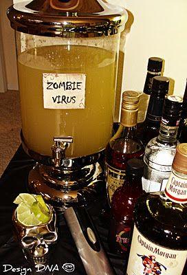 Bebida Zumbi | Ideias de Halloween | Madame Inspiração