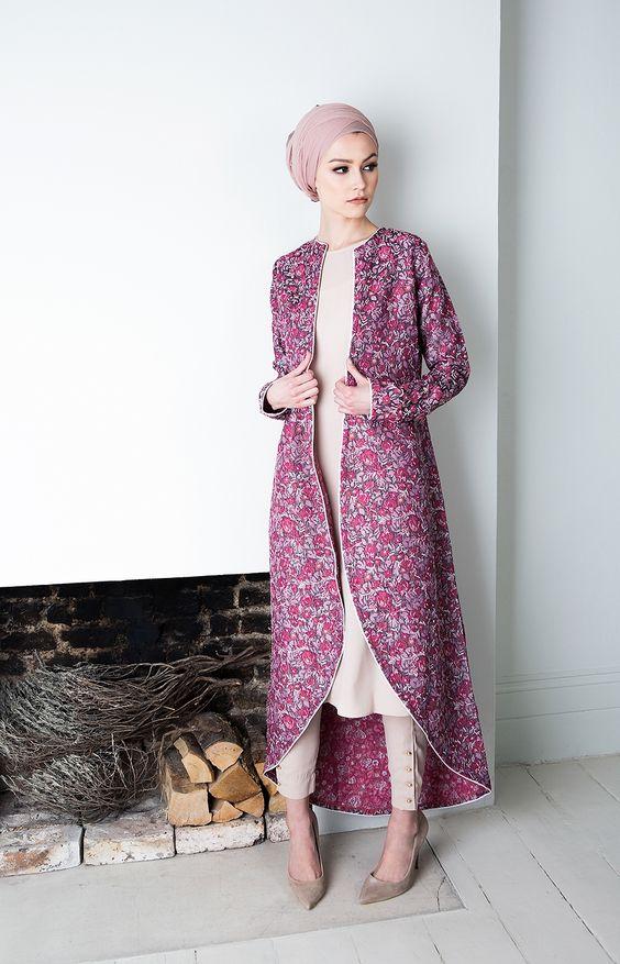 Pinterest: @eighthhorcruxx. Pink Coral Kimono