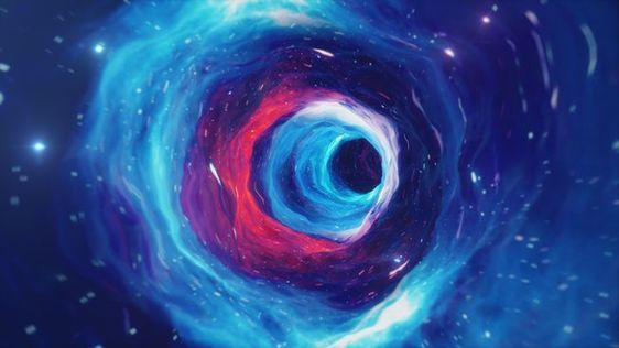 Could the black hole at the heart of our galaxy actually be a wormhole?