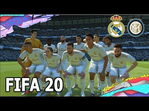 Fifa 20 Gameplay Real Madrid Vs Inter Ps4 Ps3 Xbox One Xbox