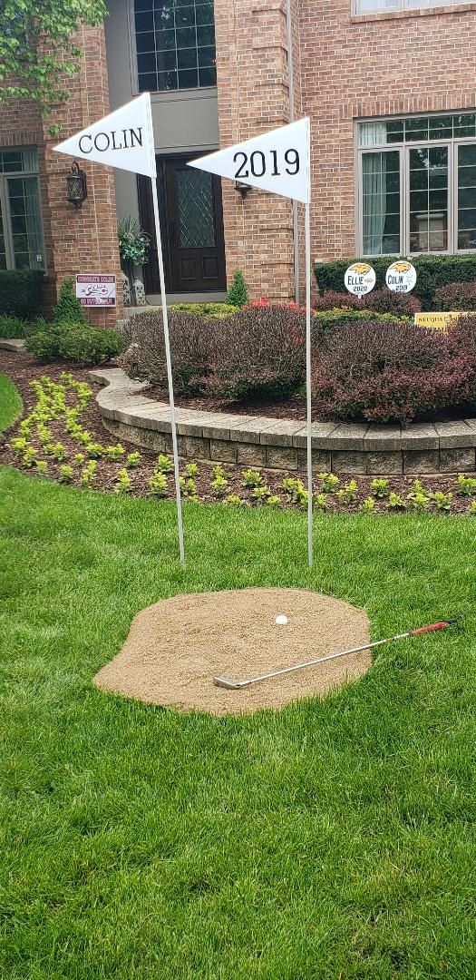 Golf Themed Party Themes, Golf Outdoor Decor