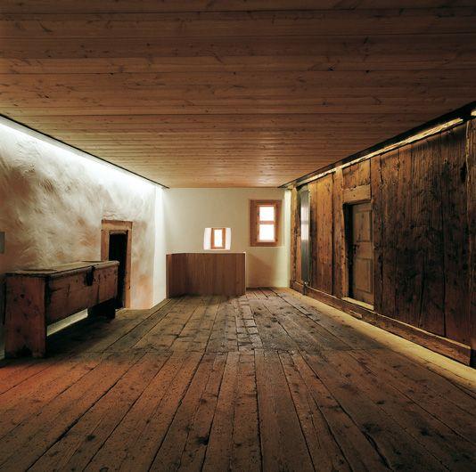 RUCH \ PARTNER ARCHITEKTEN AG Projekte Chesa Sclarida, S-chanf - architekt wohnzimmer