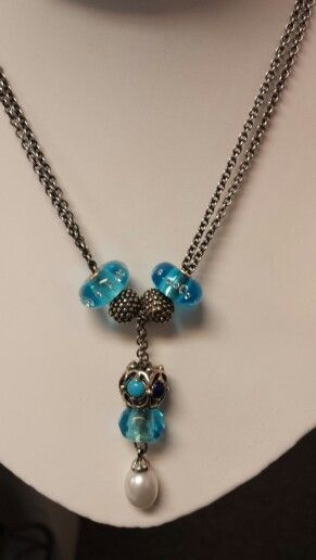 Winter fantasy necklaces