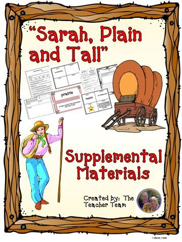 sarah plain and tall journeys third grade supplemental materials activities the o 39 jays and. Black Bedroom Furniture Sets. Home Design Ideas
