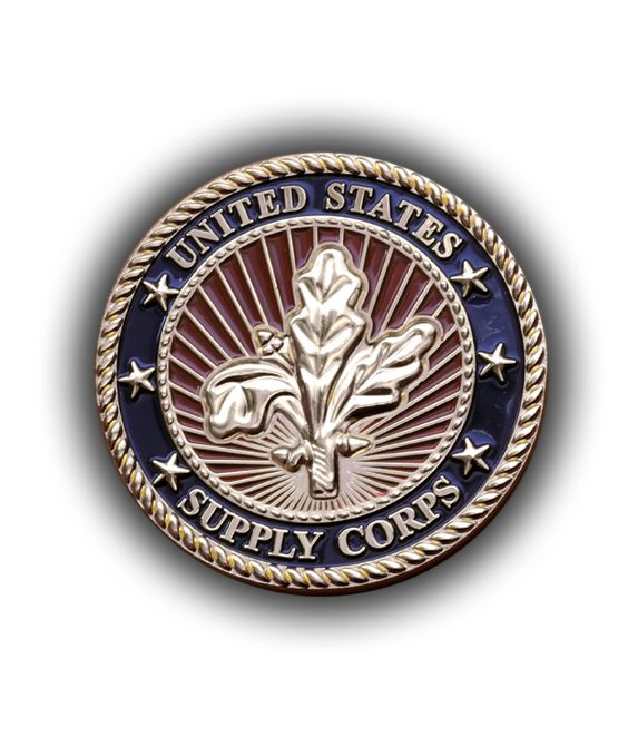 Navy Supply Corps Coin | US Navy | Pinterest | Coins and Navy