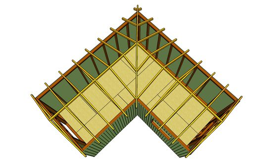 Greenhouses how to build and shed roof on pinterest for L shaped shed