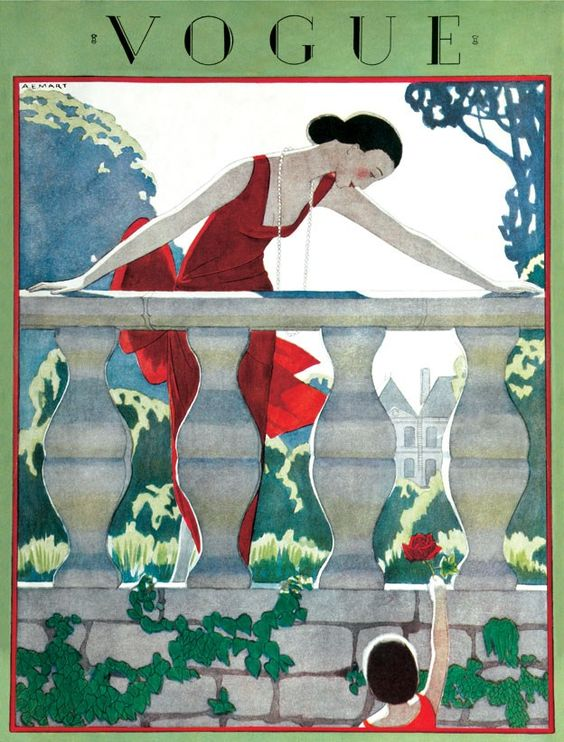 May 1924 British Vogue cover