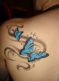 Bildresultat för butterfly tattoo                                                                                                                                                     More