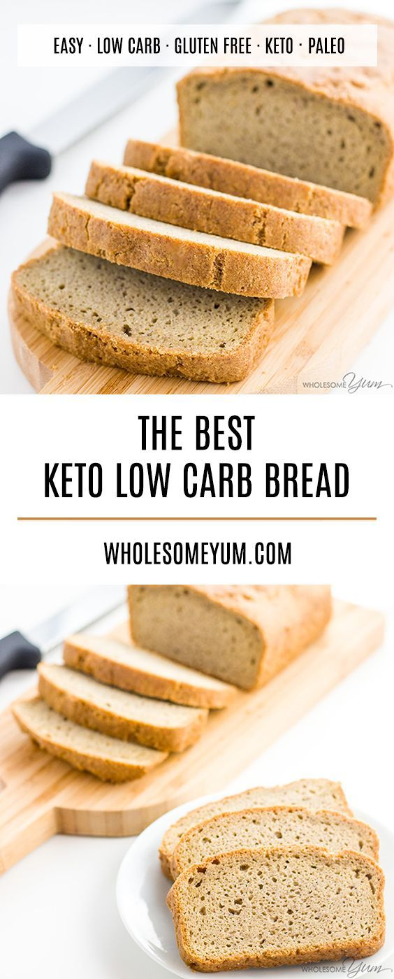 The Best Keto Low Carb Bread In 2020 Best Low Carb Bread Low Carb Bread Gluten Free Low Carb Bread Recipe