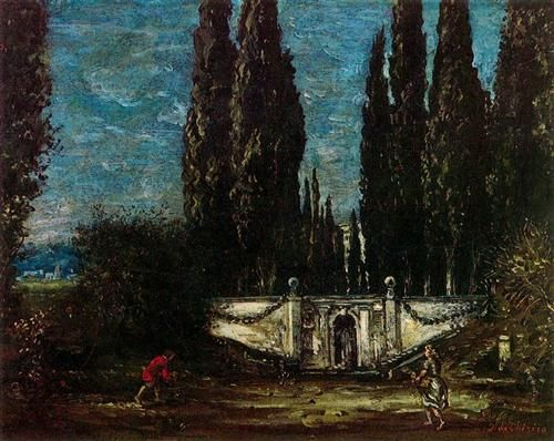Villa Falconieri - Giorgio de Chirico: