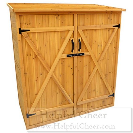 Brown Finish Medium Storage Shed - at - 0153 - Your Online Home Improvement S