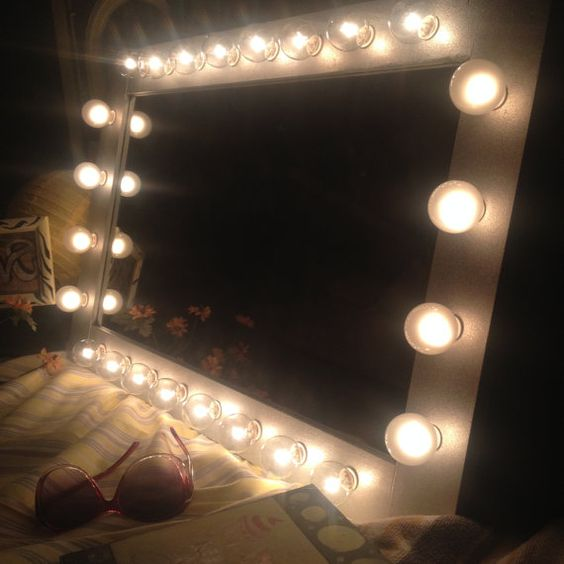 Lighted Vanity Mirror Etsy : Pinterest The world s catalog of ideas