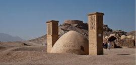 """IRAN. Les """"tours du silence"""" de Yazd, capitale mystique"""