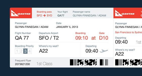 Dear Airlines This Is What Your Boarding Passes Should Look Like - fake plane ticket template