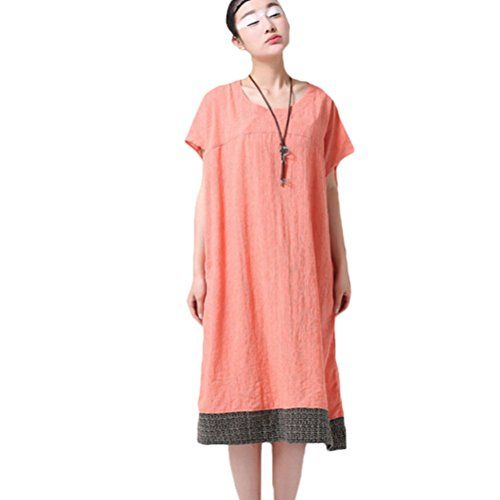 Minibee Summer Sundress Embroidery Rim Long Dress with Pockets Pink-L Minibee http://www.amazon.com/dp/B0105BALES/ref=cm_sw_r_pi_dp_3I4Hvb1KD7EQD