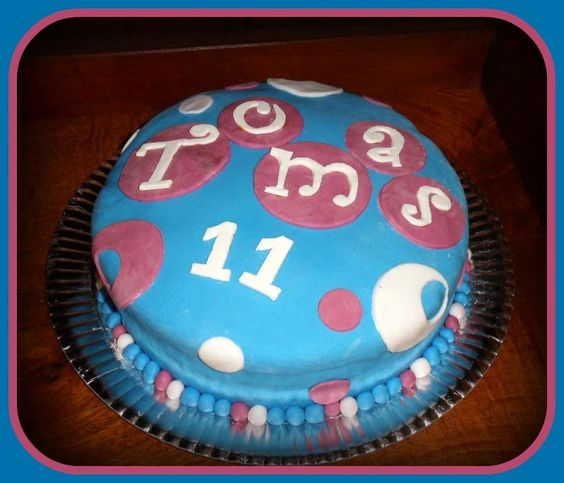 Torta para Tomy