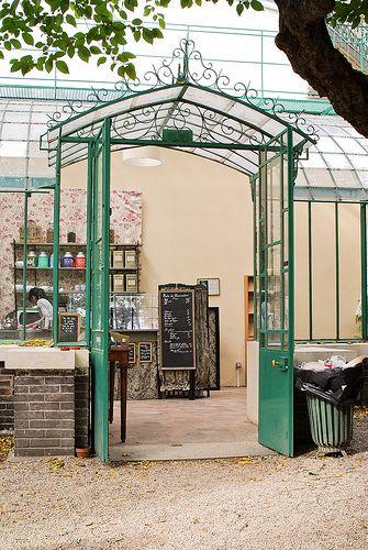 Salon de thé, Musée de la Vie Romantique Paris 9e