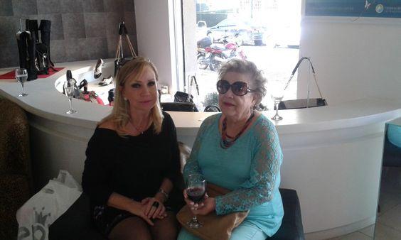 Mary Schaffer e Yara Maron