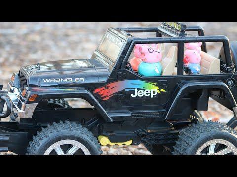Depresión Electrónico milicia  Carro de control remoto 4x4 y Peppa Pig/ Carro control remoto 4x4 Jeep  Wrangler en el bosque. - YouTube | Jeep, Jeep wrangler, Control remoto