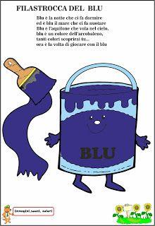 A Scuola con Poldo: Il Blu