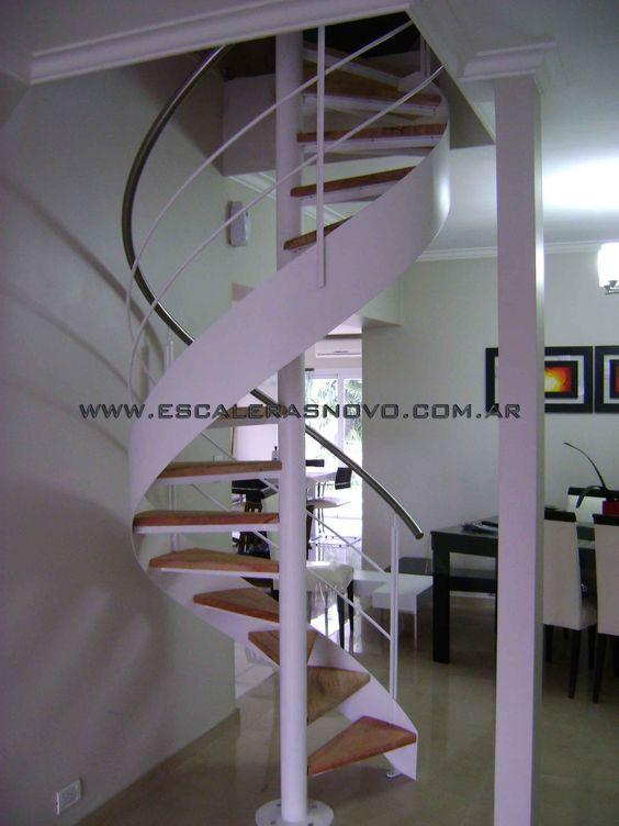 Escalera caracol con cinta helicoidal nº14 venta de escaleras y ...
