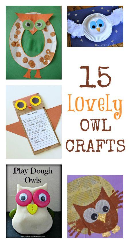 Kid Owl Crafts