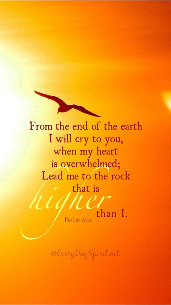 Psalm 61:2 With optimal health often comes clarity of thought. Click now to visit my blog for your free fitness solutions!