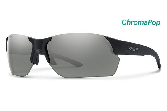 Smith - Envoy Max Matte Black Sunglasses, ChromaPop Polarized Platinum Lenses