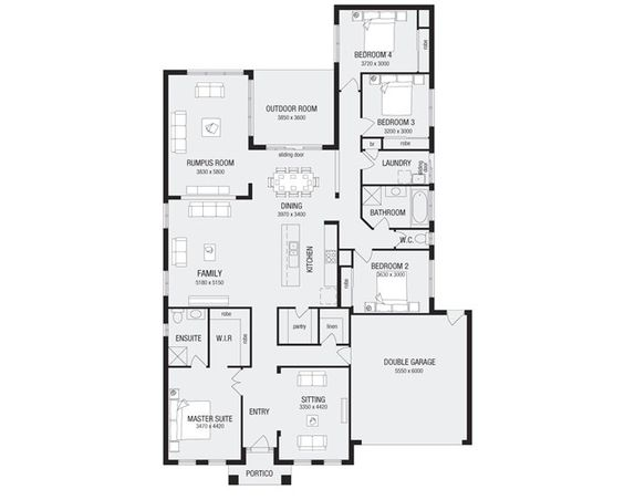 Duplex Floor Plans With Double Garage Architectural Designs