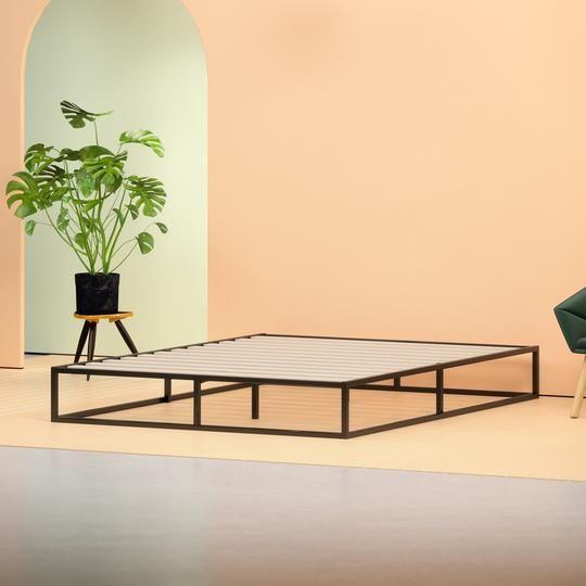 Zinus Steel Platform Bed Frame With Images Platform Bed