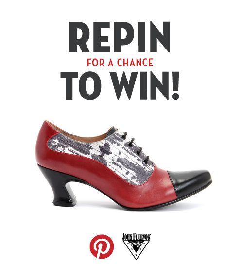 Congratulations to Becky S, winning her Wonders K2!! Thank you to everyone who entered! The contest has ended. http://www.fluevog.com/flueblog/2013/09/fluevog-wonders-k2-pinterest-contest/  #repintowinvogs