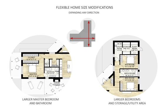 Contemporary Style House Plan - 3 Beds 25 Baths 2180 Sq/Ft Plan
