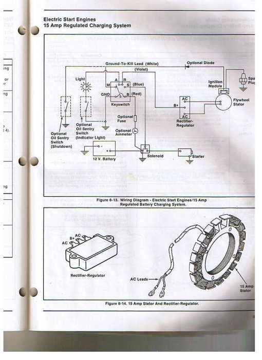 12 Mountaineer Garden Tractor Wiring Diagram With A K301 Kohler