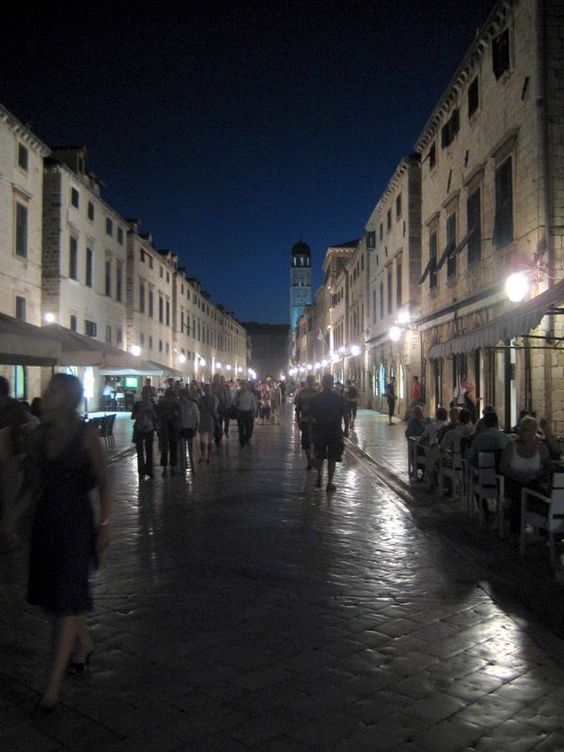 Streets of Old Town Dubrovnik by night: Tops, Croatia, Old Town, Night, Town Dubrovnik, Places, Travel, Things To Do